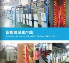 铝板喷涂生产线
